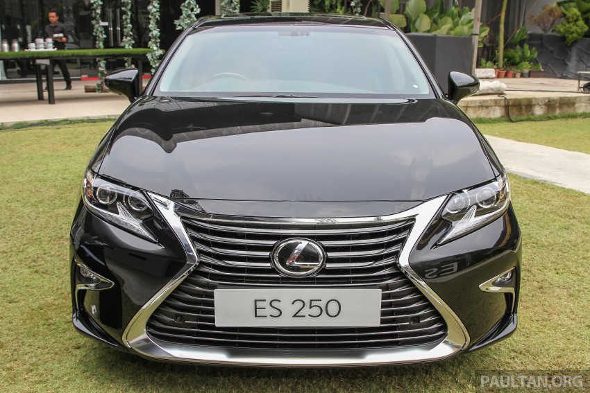 Lexus ES facelift launched in Malaysia – 3 variants Image #370316