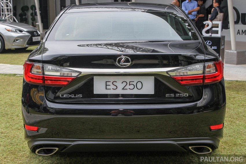 Lexus ES facelift launched in Malaysia – 3 variants Image #370319