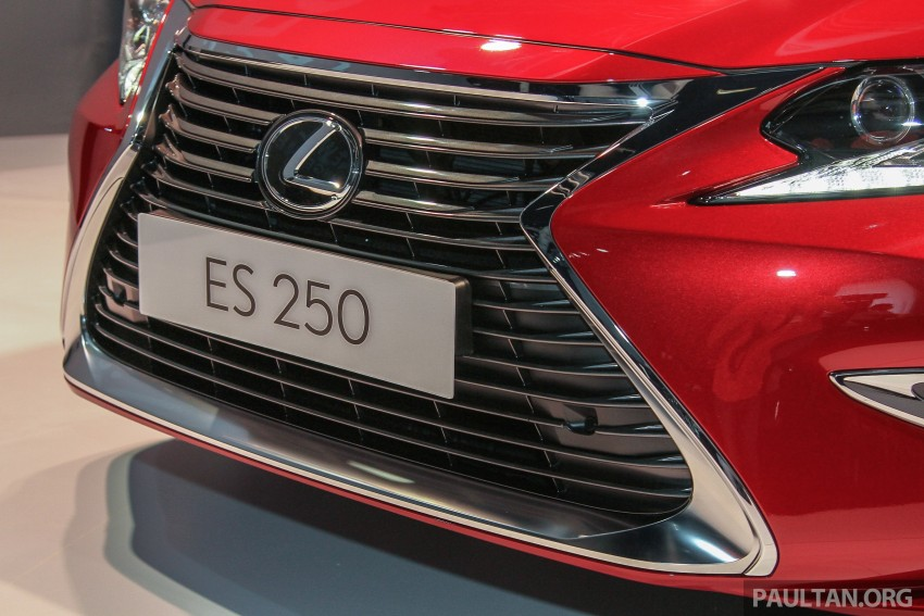Lexus ES facelift launched in Malaysia – 3 variants Image #370264