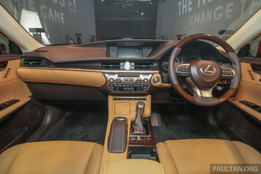 Lexus ES facelift launched in Malaysia – 3 variants Image #370325