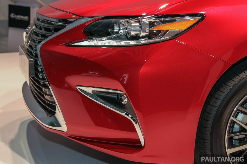 Lexus ES facelift launched in Malaysia – 3 variants Image #370265