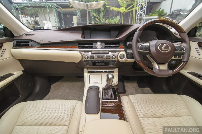 Lexus ES facelift launched in Malaysia – 3 variants Image #370338