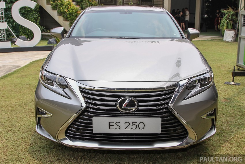 Lexus ES facelift launched in Malaysia – 3 variants Image #370350