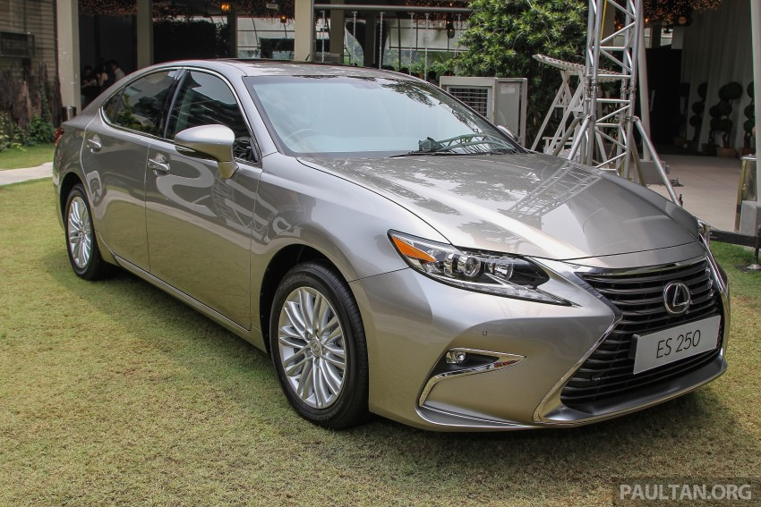 Lexus ES facelift launched in Malaysia – 3 variants Image #370351