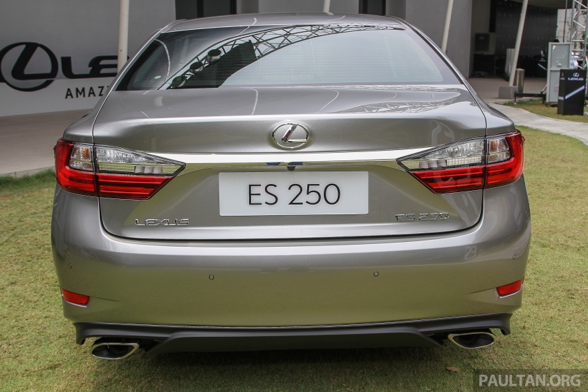 Lexus ES facelift launched in Malaysia – 3 variants Image #370354