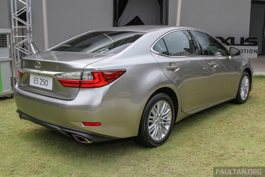 Lexus ES facelift launched in Malaysia – 3 variants Image #370355