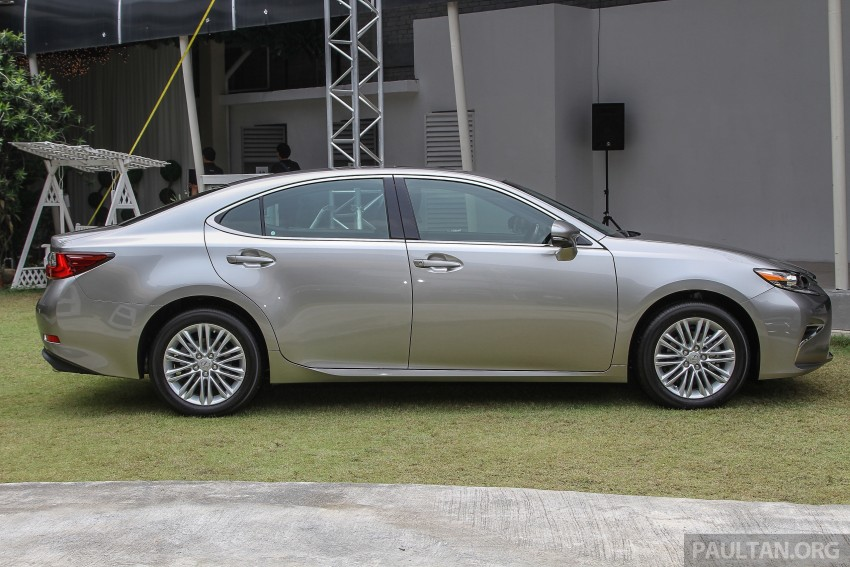 Lexus ES facelift launched in Malaysia – 3 variants Image #370357