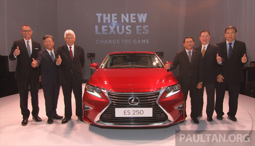 Lexus ES facelift launched in Malaysia – 3 variants Image #370134