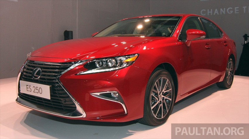 Lexus ES facelift launched in Malaysia – 3 variants Image #370135