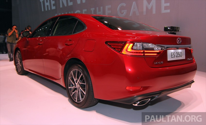 Lexus ES facelift launched in Malaysia – 3 variants Image #370136