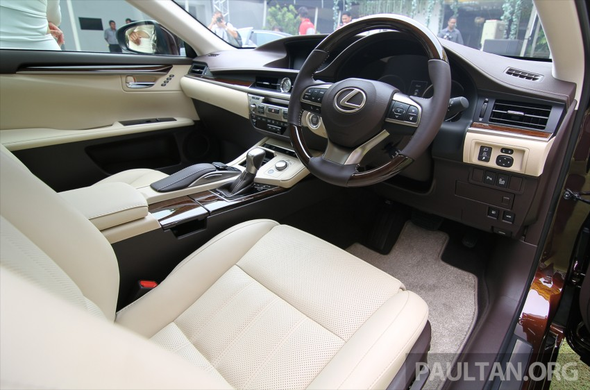 Lexus ES facelift launched in Malaysia – 3 variants Image #370137