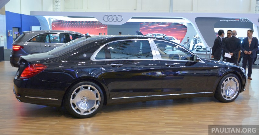 GIIAS 2015: Mercedes-Maybach S-Class S500 on show Image #371696