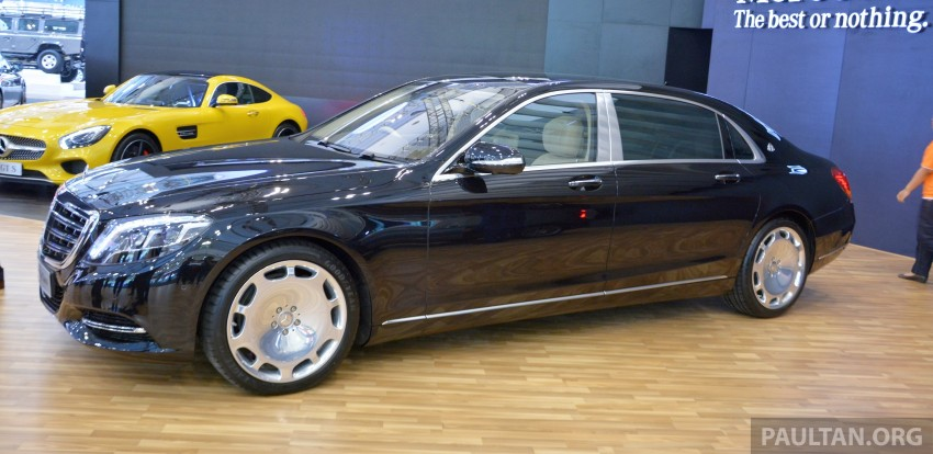 GIIAS 2015: Mercedes-Maybach S-Class S500 on show Image #371697