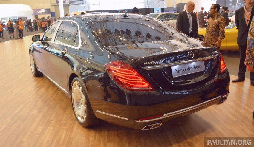 GIIAS 2015: Mercedes-Maybach S-Class S500 on show Image #371698