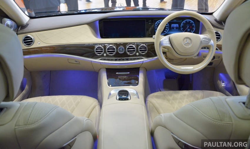 GIIAS 2015: Mercedes-Maybach S-Class S500 on show Image #371700