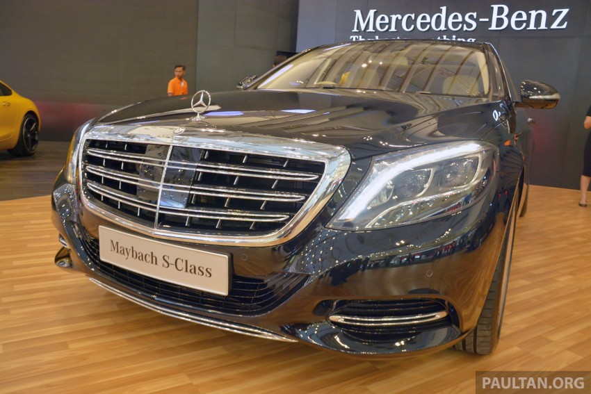 GIIAS 2015: Mercedes-Maybach S-Class S500 on show Image #371670