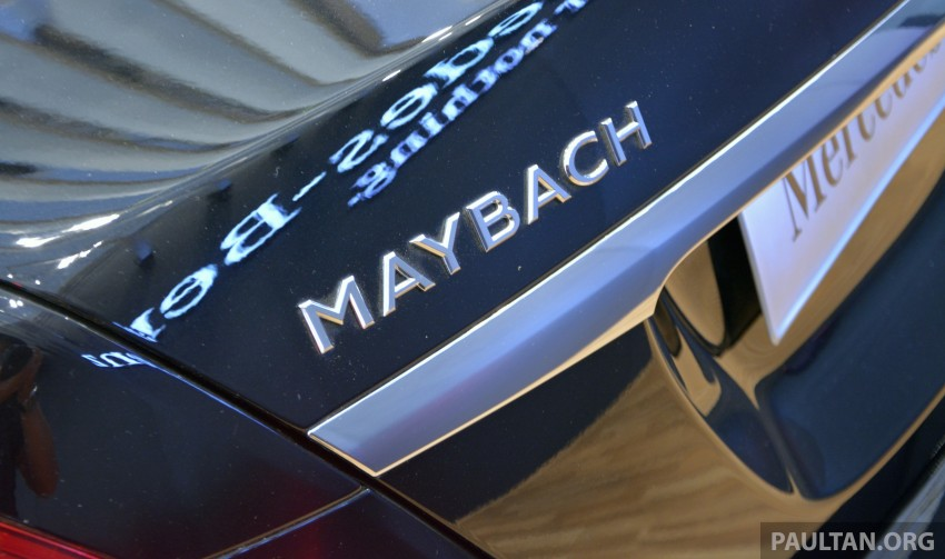 GIIAS 2015: Mercedes-Maybach S-Class S500 on show Image #371672