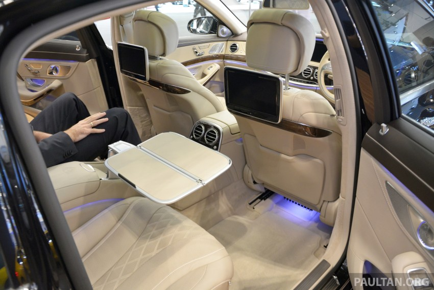GIIAS 2015: Mercedes-Maybach S-Class S500 on show Image #371675