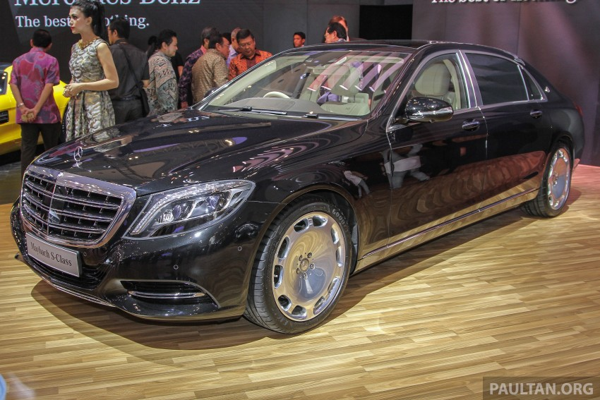 GIIAS 2015: Mercedes-Maybach S-Class S500 on show Image #371676