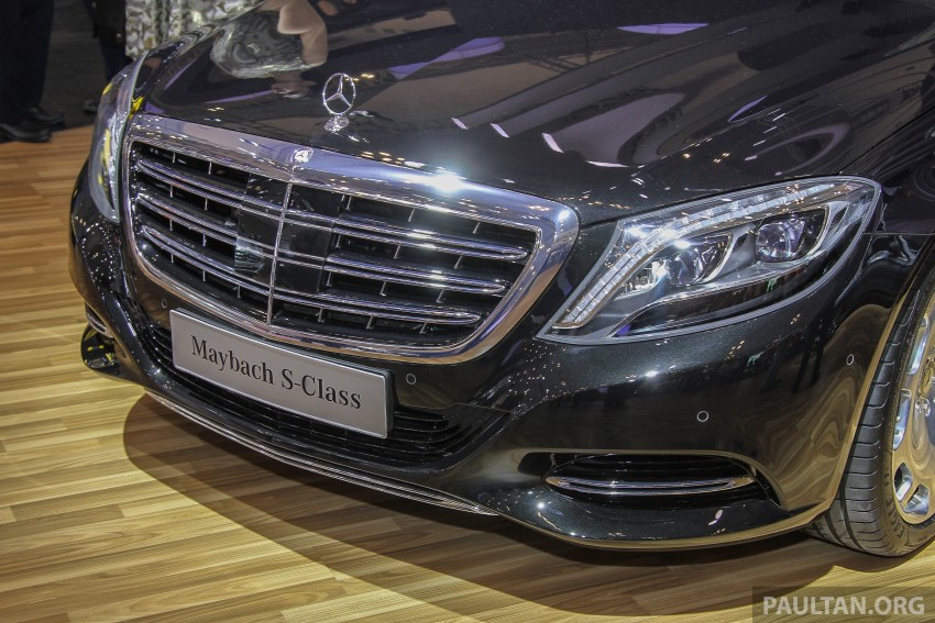 GIIAS 2015: Mercedes-Maybach S-Class S500 on show Image #371677