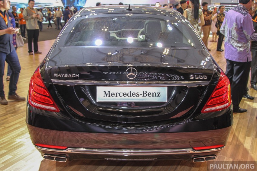 GIIAS 2015: Mercedes-Maybach S-Class S500 on show Image #371679