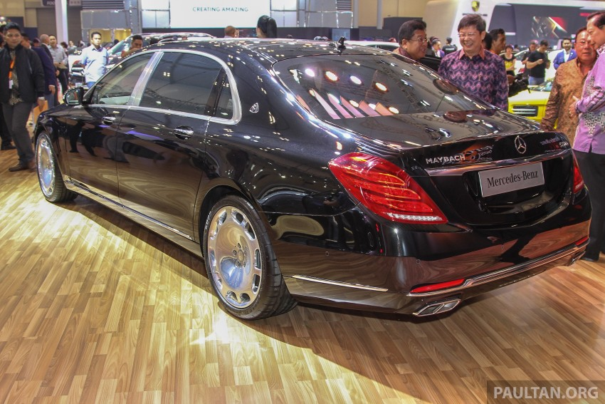GIIAS 2015: Mercedes-Maybach S-Class S500 on show Image #371680