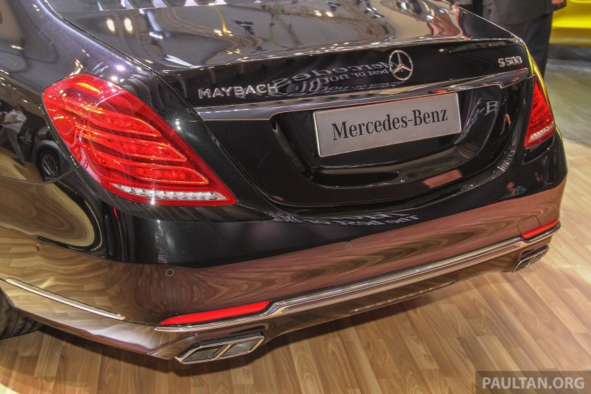 GIIAS 2015: Mercedes-Maybach S-Class S500 on show Image #371681