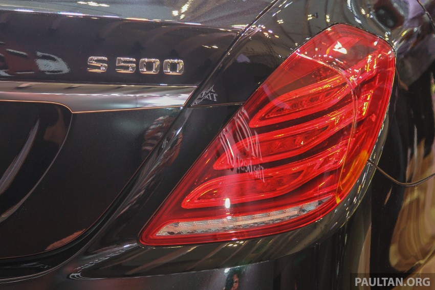 GIIAS 2015: Mercedes-Maybach S-Class S500 on show Image #371682