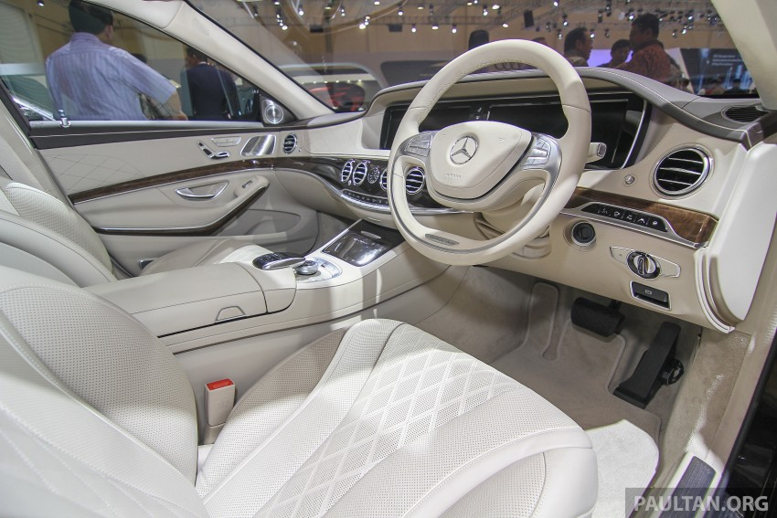 GIIAS 2015: Mercedes-Maybach S-Class S500 on show Image #371684