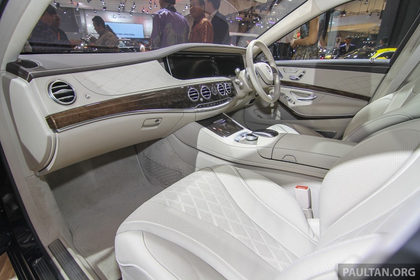 GIIAS 2015: Mercedes-Maybach S-Class S500 on show Image #371685