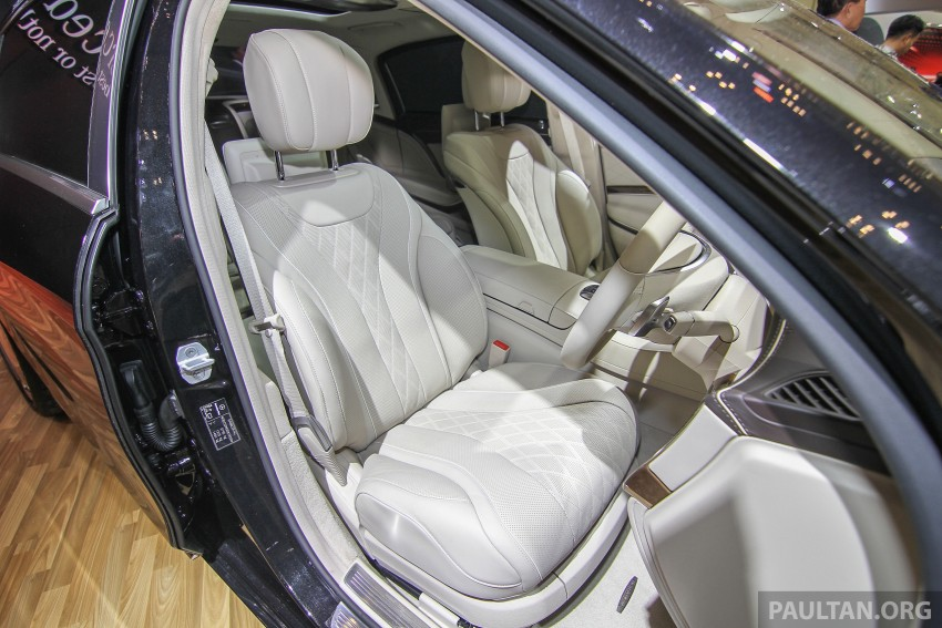 GIIAS 2015: Mercedes-Maybach S-Class S500 on show Image #371686