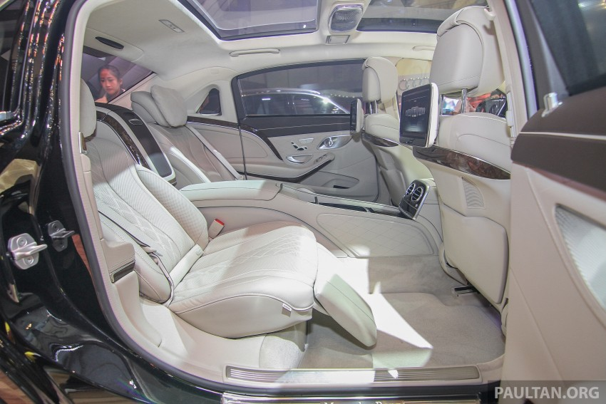 GIIAS 2015: Mercedes-Maybach S-Class S500 on show Image #371690