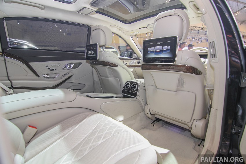 GIIAS 2015: Mercedes-Maybach S-Class S500 on show Image #371691
