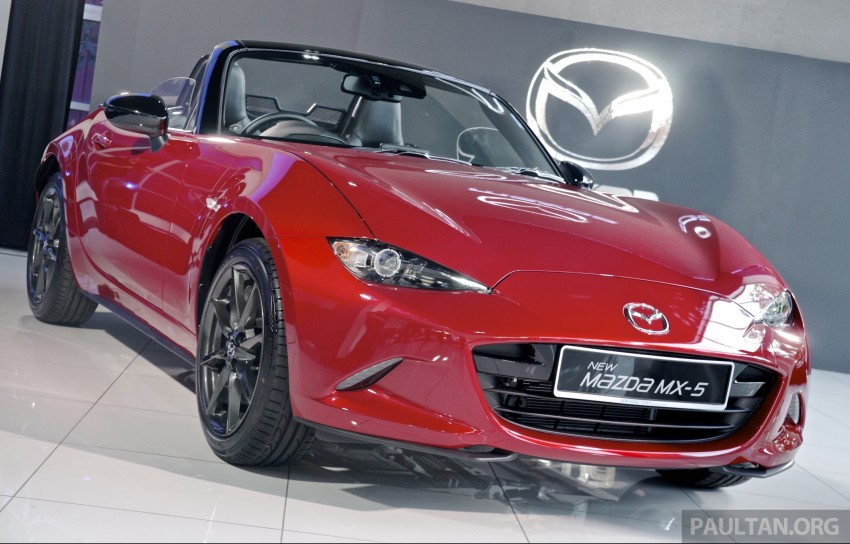 Mazda MX-5 launched in M'sia: 2.0L, 6sp auto, RM220k Image #369909