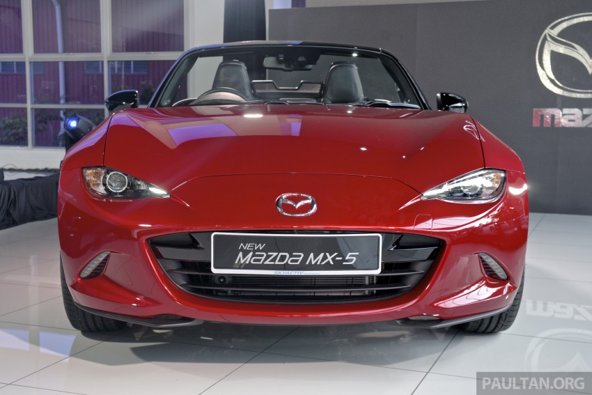 Mazda MX-5 launched in M'sia: 2.0L, 6sp auto, RM220k Image #369910
