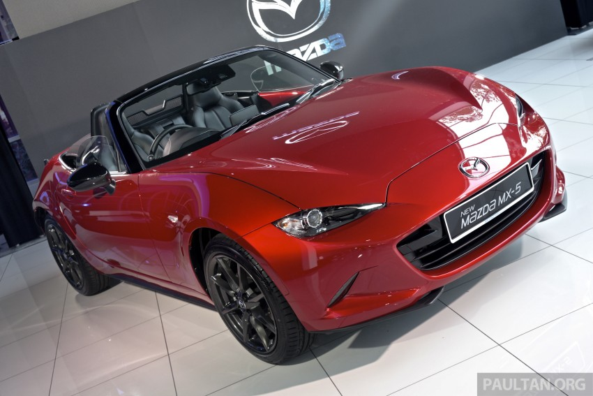 Mazda MX-5 launched in M'sia: 2.0L, 6sp auto, RM220k Image #369911