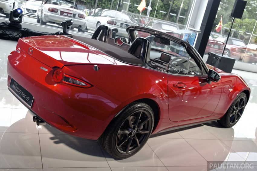 Mazda MX-5 launched in M'sia: 2.0L, 6sp auto, RM220k Image #369912