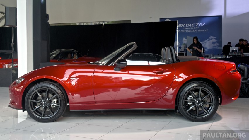 Mazda MX-5 launched in M'sia: 2.0L, 6sp auto, RM220k Image #369913