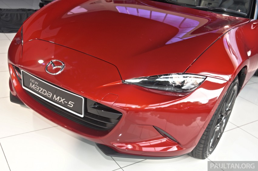 Mazda MX-5 launched in M'sia: 2.0L, 6sp auto, RM220k Image #369925