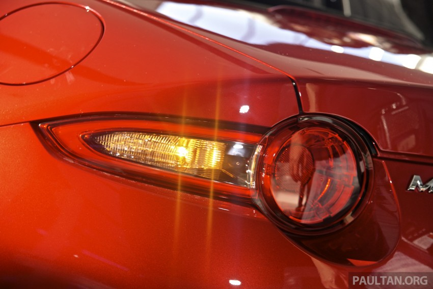 Mazda MX-5 launched in M'sia: 2.0L, 6sp auto, RM220k Image #369902