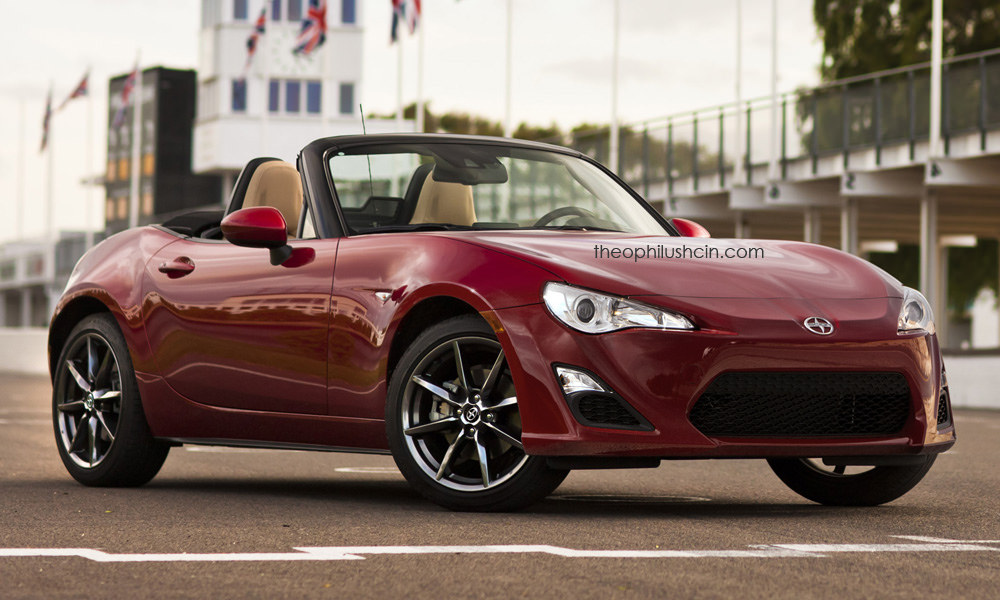 Mazda MX-5 imagined with different faces and brands Image ...