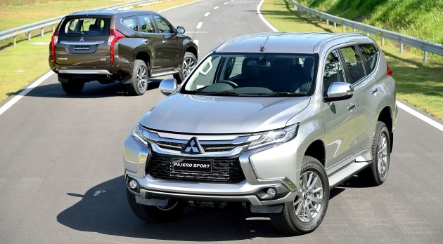 Экстерьер Mitsubishi Pajero Sport 2017