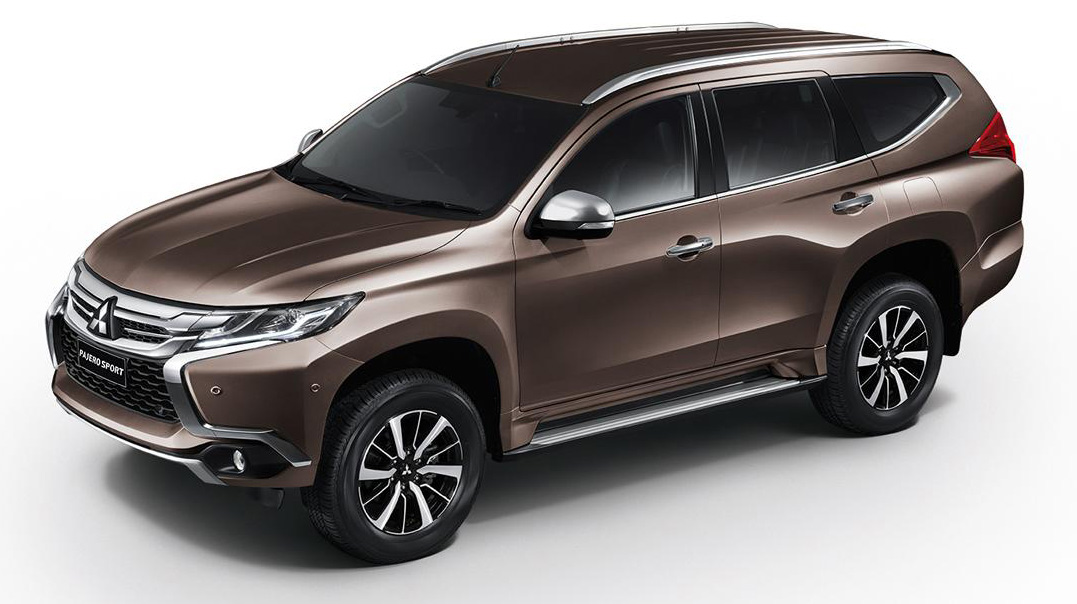 2016 Mitsubishi Pajero Sport – new Triton-based ladder frame SUV makes global debut in Thailand ...