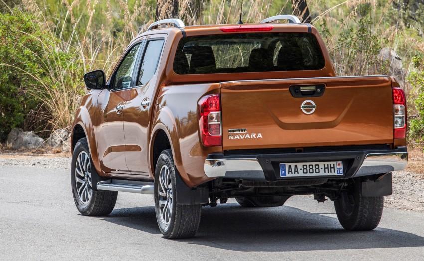 GALLERY: Nissan Navara NP300 sets foot in Europe Image #370491