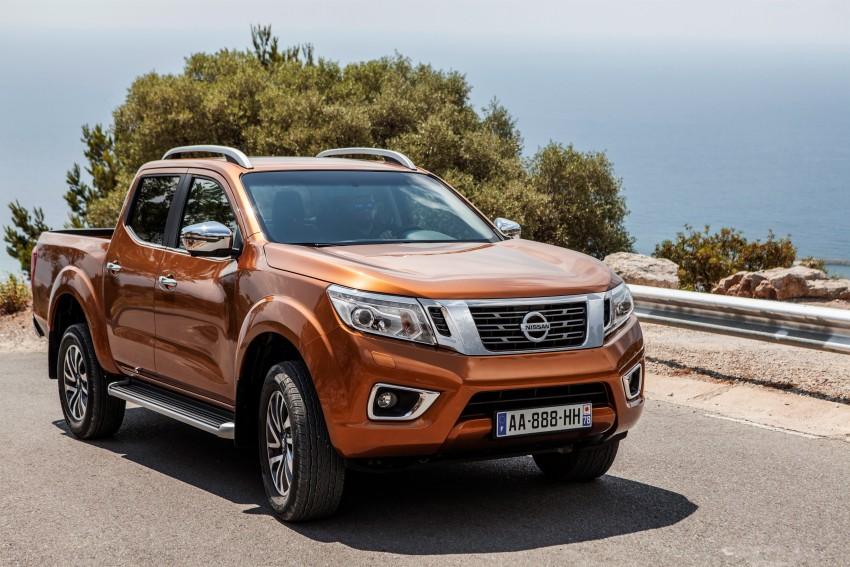 GALLERY: Nissan Navara NP300 sets foot in Europe Image #370492