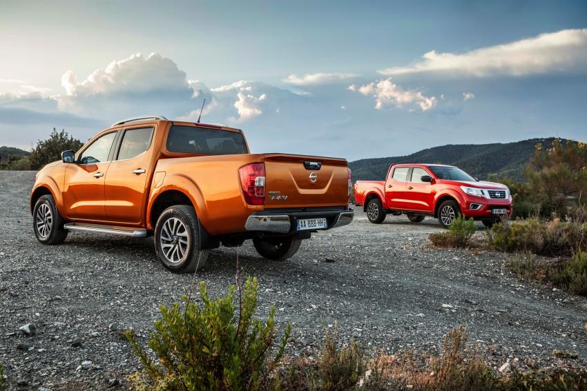 GALLERY: Nissan Navara NP300 sets foot in Europe Image #370500