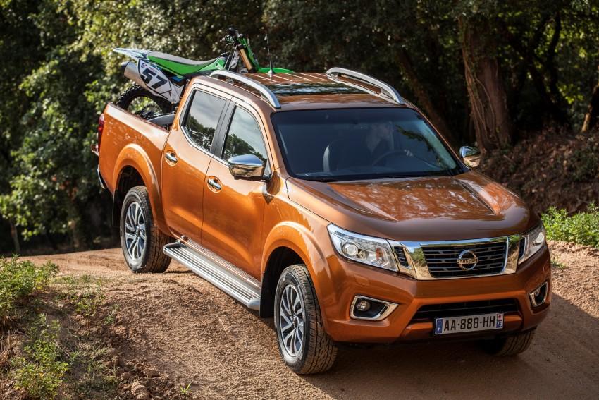 GALLERY: Nissan Navara NP300 sets foot in Europe Image #370501