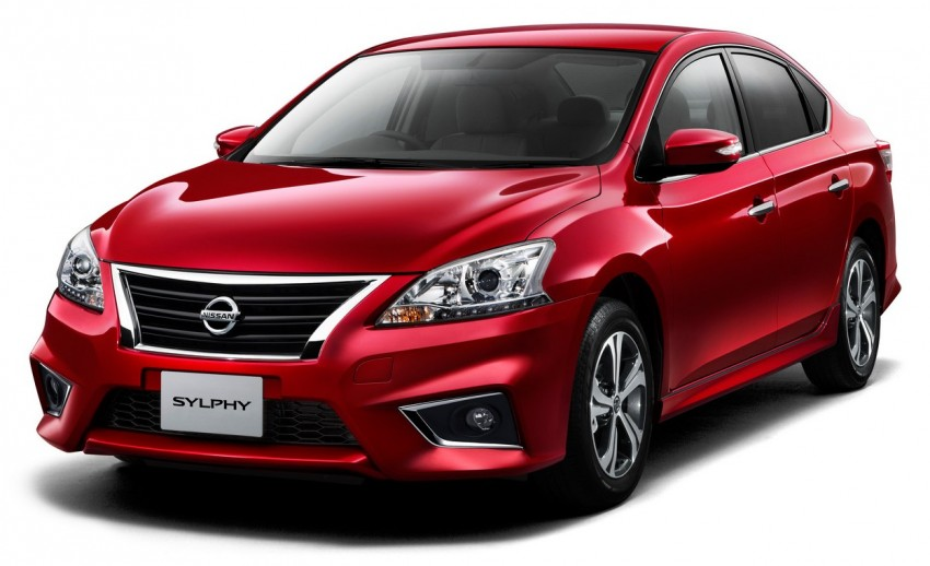 Nissan Sylphy S Touring Edition unveiled in Japan Image #372146
