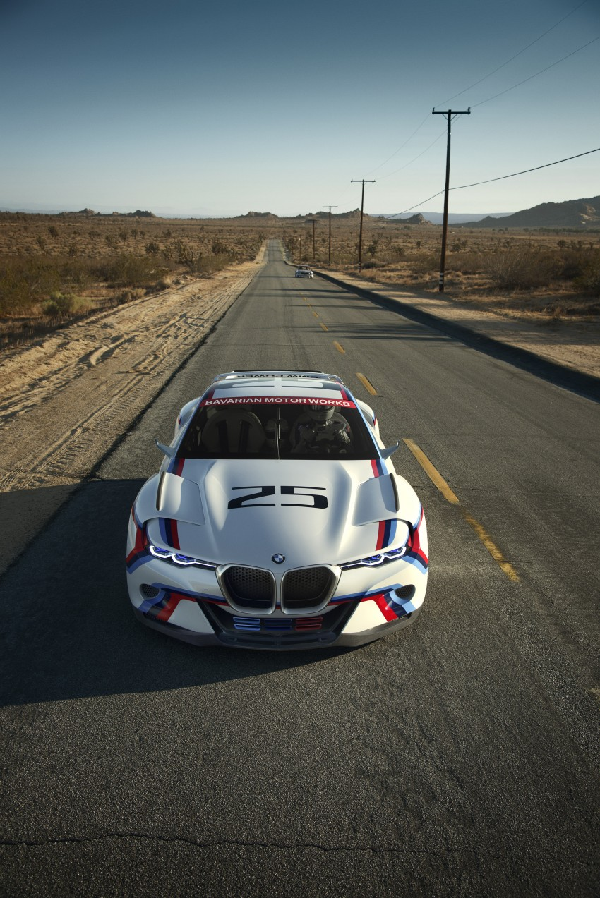 BMW 3.0 CSL Hommage R makes Pebble Beach debut Image #367440