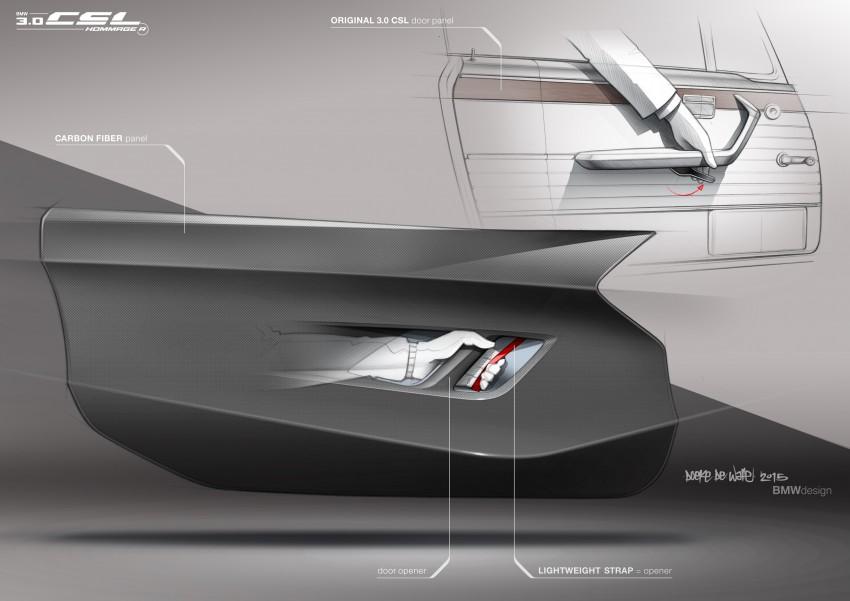 BMW 3.0 CSL Hommage R makes Pebble Beach debut Image #367435